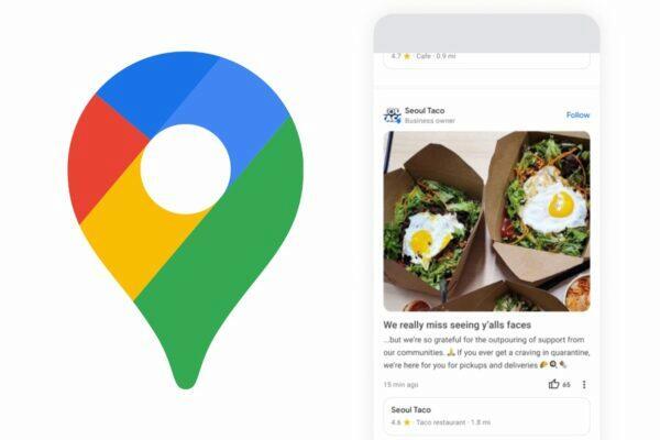 Google mapy komunitní zdroje