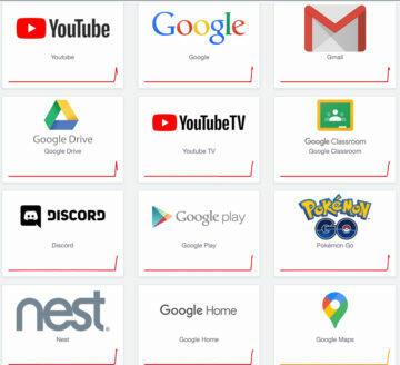 google velký výpadek