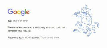 google vypadek gmail
