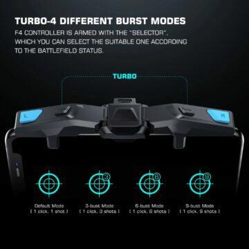 Herní ovladač mobilu GameSir F4 Falcon