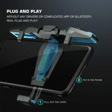 Herní ovladač mobilu GameSir F4 Falcon pnp