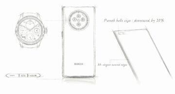honor v40 design nakres