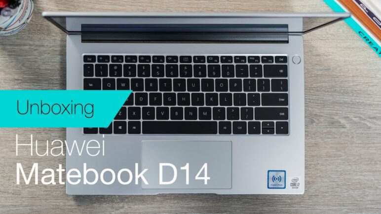 Huawei Matebook D14 (2020) unboxing & first impressions