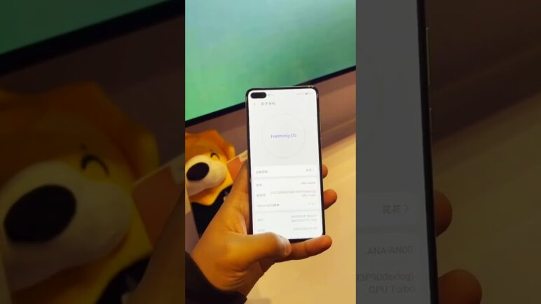 Huawei P40 With Harmony OS 2.0