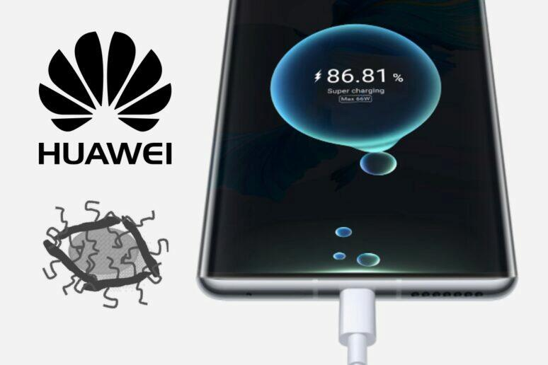 Huawei patent grafenové baterie