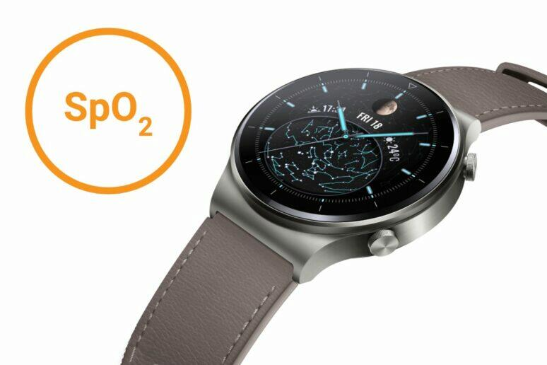Huawei Watch GT 2 Pro okysličení krve