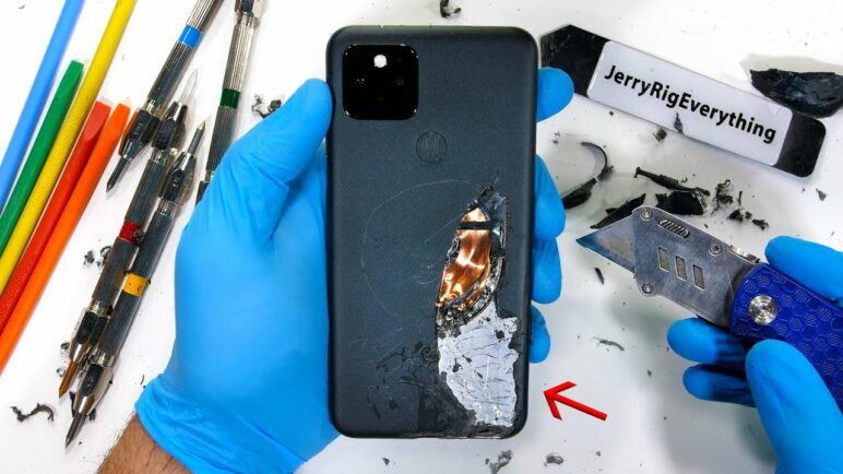 Is the Google Pixel 5 Really made of Metal? - Durability Test!