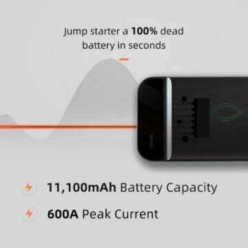 Přenosný Full HD monitor UPERFECT Jump Starter powerbanka 70mai parametry
