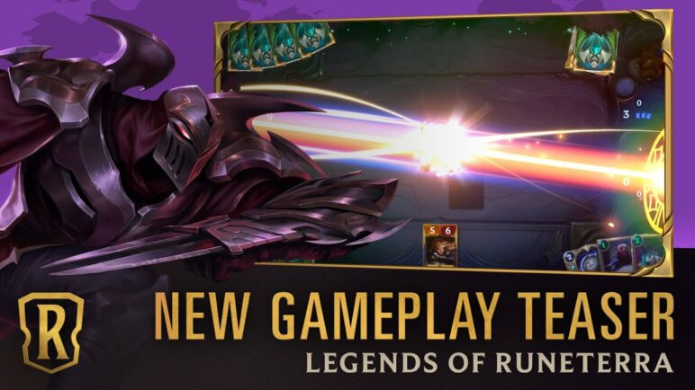 Legends of Runeterra - New Gameplay Teaser | 30 Second Preview