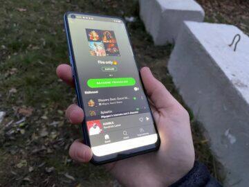 levný herní telefon