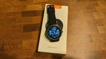 Mibro Air testování hodinky krabička