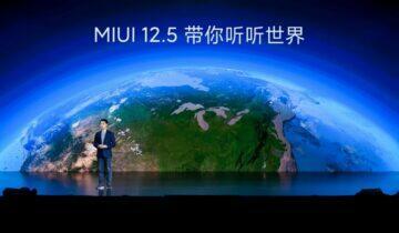 MIUI 12.5 prezentace