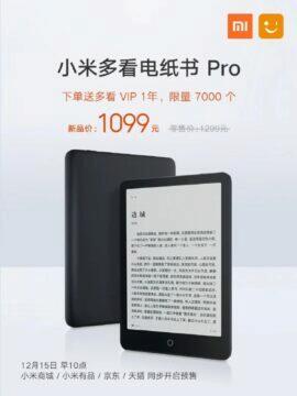novinka Xiaomi eBook Reader Pro
