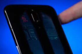 Nubia telefon s přepínáním průhlednosti zad