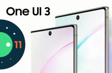 One UI 3.0 Samsung Galaxy Note10 Note10+