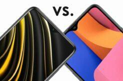 porovnání Xiaomi POCO M3 Samsung Galaxy A20s