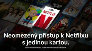 prémiový účet dárek Netflix