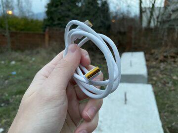 realme 7 5g nabíjecí kabel