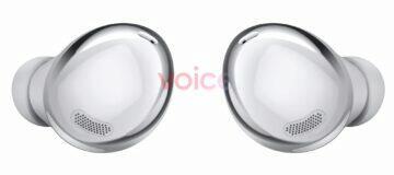 Samsung Galaxy Buds Pro obrázky stříbrná sluchátka