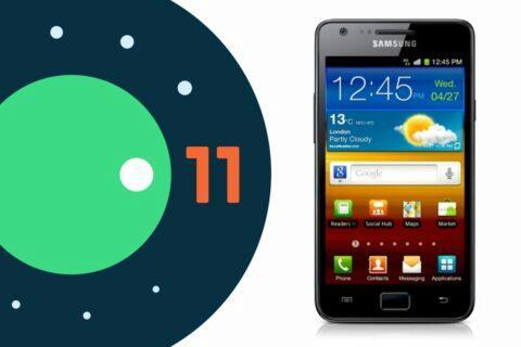 Samsung Galaxy S II Android 11