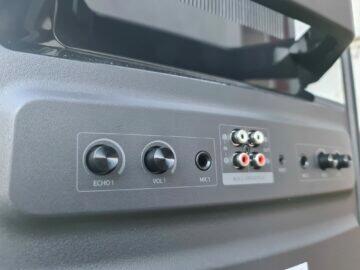 Samsung MX-T70 vstupy nástroje