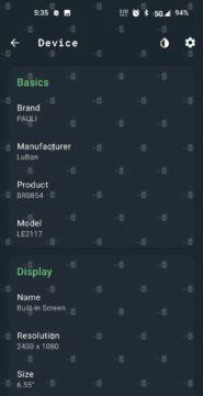 screenshot rozlišení