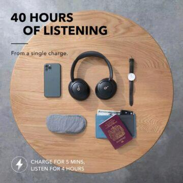 Sluchátka Anker Soundcore Life Q30 výdrž