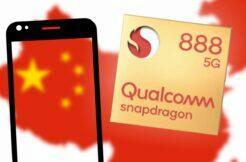 Snapdragon 888 čínské telefony