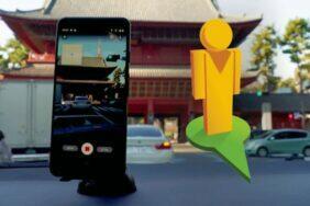 Street View focení mobilem