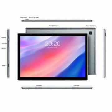 tablet Teclast P20HD rozměry