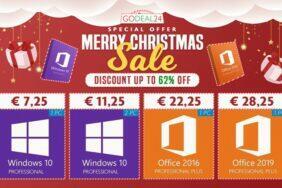Vánoční prodeje Windows