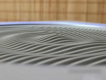 VOCOlinc VAP1 horní průduch detail vlny