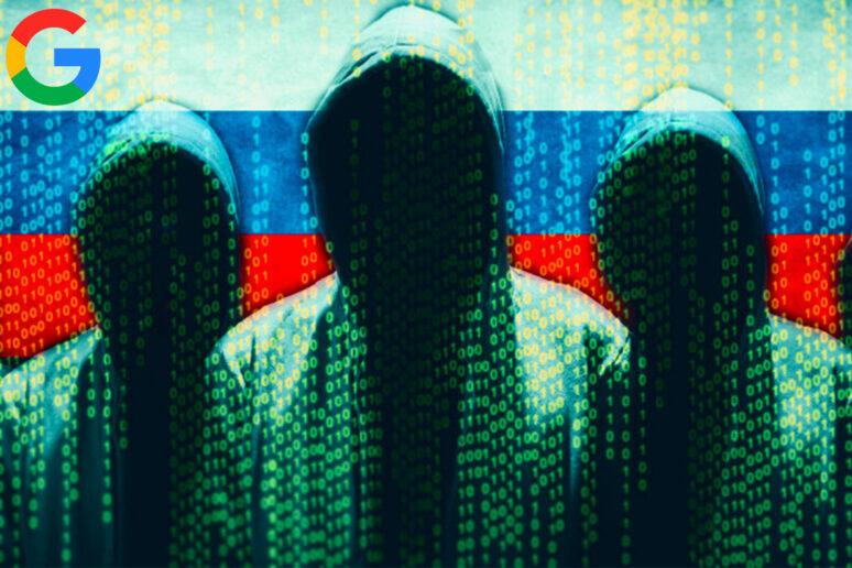 výpadky Google služeb rusové