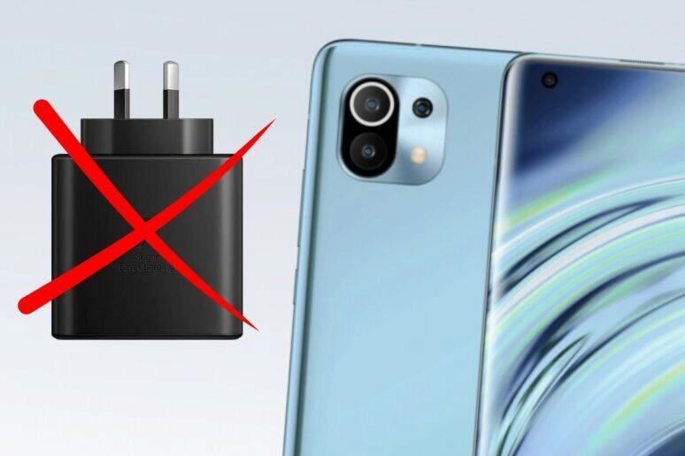 Xiaomi Mi 11 bez nabíječky