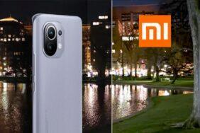 Xiaomi Mi 11 noční video režim