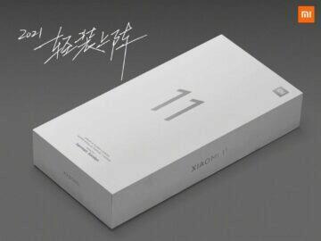 Xiaomi Mi 11 obal