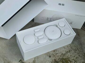 Xiaomi Mijia Mi Smart Sensor Set balení obsah