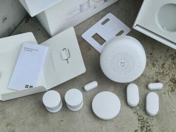 Xiaomi Mijia Mi Smart Sensor Set balení obsah komplet