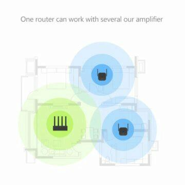Xiaomi Mijia WiFi repeater zapojení