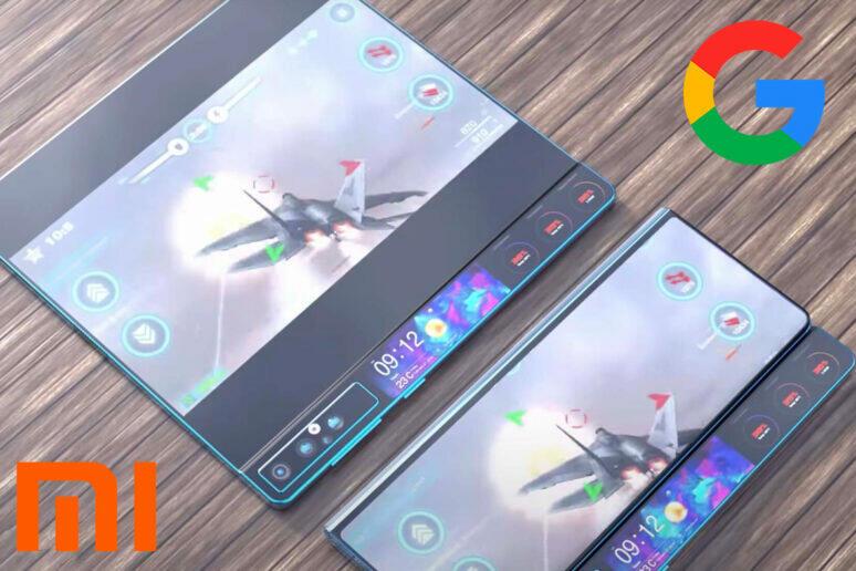 Xiaomi Oppo Vivo Google ohebný displej