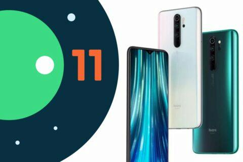 Xiaomi Redmi 2019 telefony Android 11