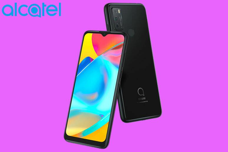 alcatel nový telefon android 11