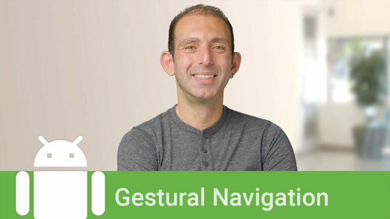 Android 10: Gestural navigation