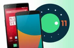 Android 11 OnePlus One Nexus 5 Sony Xperia SP T TX V