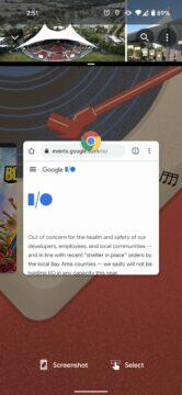 Android 11 rozdělená obrazovka