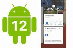 Android 12 pár aplikací
