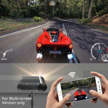 Bezdrátový projektor BYINTEK K9 Mini hry