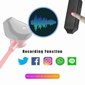 BT sluchátka Waitronic WT-RS1 s nahráváním hovorů detail