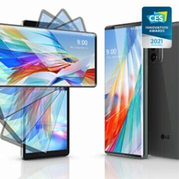 CES 2021 nejinovativnější mobily LG Wing
