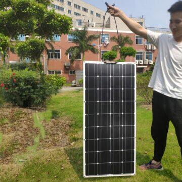 Cestovní solární panel Dokio